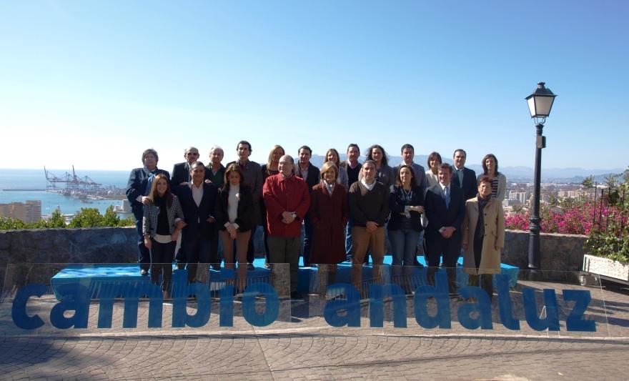Candidatura al Parlamento Andaluz PP Málaga 2012