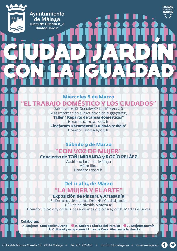 Ciudad Jardín con la Igualdad