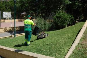 Mejora de las zonas verdes en Ciudad Jardín