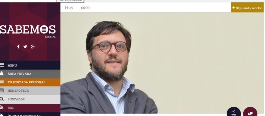 entrevista a @RafaRubio